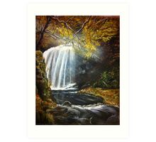 Dalcairney in Fall Art Print