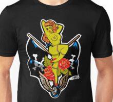 Zombie Pin-Up Girl Shirt Unisex T-Shirt