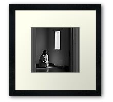 "Johnny Coat, The Psychiactric Center ""Chapman Unit"" Framed Print"