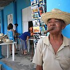 Cigar smoking Cuban - Viñales by fionapine