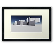 render 2 Framed Print