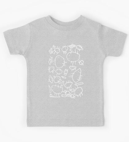 jeepers creepers! (white) Kids Tee