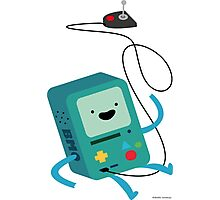 BMO & Controller Photographic Print