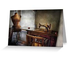 Sewing - A tailors life  Greeting Card