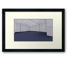 render 6 Framed Print