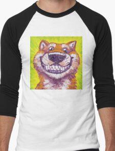 Happy Puppy Men's Baseball ¾ T-Shirt