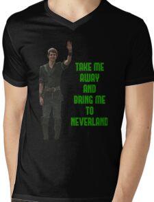 Peter Pan Mens V-Neck T-Shirt