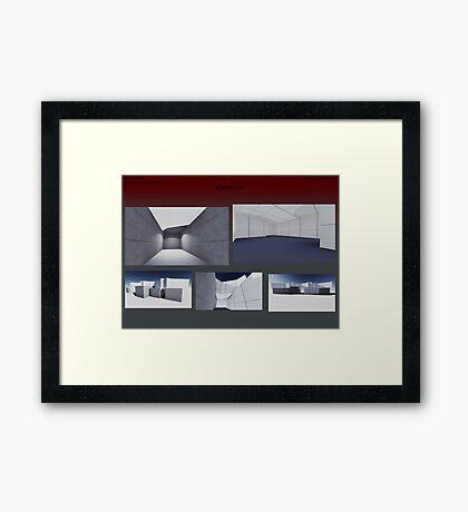 render 8 Framed Print
