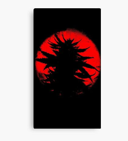 The Bud Rises From the East Canvas Print
