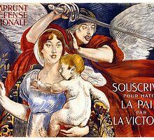 3e Emprunt de la Défense Nationale Vintage Poster by Carsten Reisinger