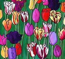 Tulip Vista by Susan Duffey