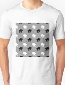 Black and White Cats Unisex T-Shirt