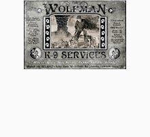 Wolfman K-9 Services Vintage (ver2) Unisex T-Shirt
