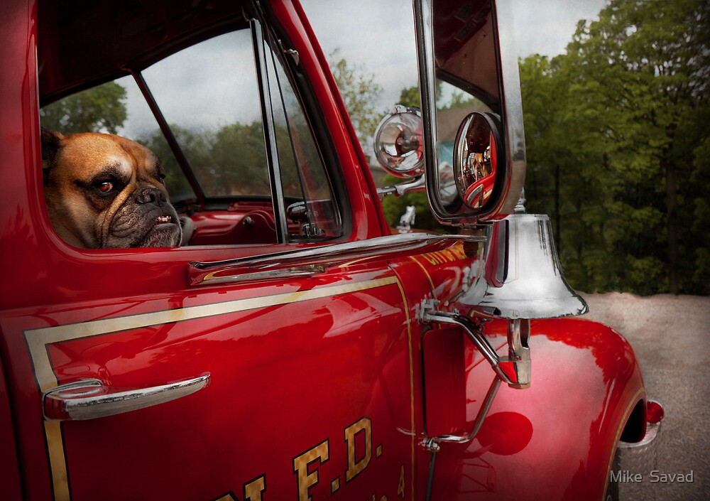 Fireman - Mack  by Mike  Savad