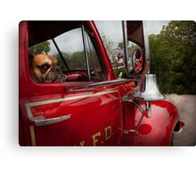 Fireman - Mack  Canvas Print