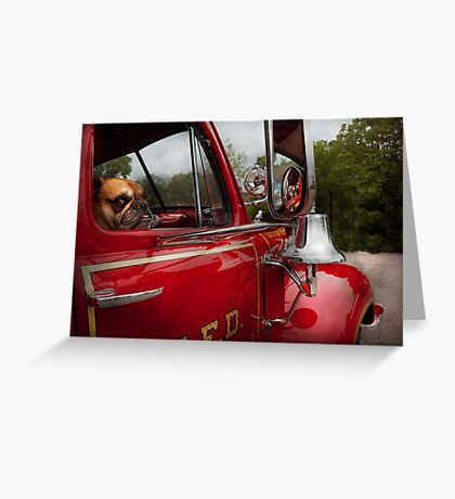 Fireman - Mack  Greeting Card