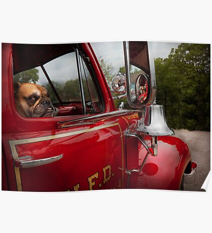 Fireman - Mack  Poster