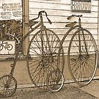High-Wheel Bicycles by CarolM