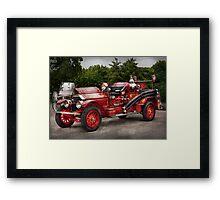 Fireman - Phoenix No2 Stroudsburg, PA 1923  Framed Print