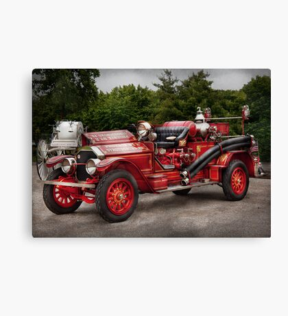 Fireman - Phoenix No2 Stroudsburg, PA 1923  Canvas Print