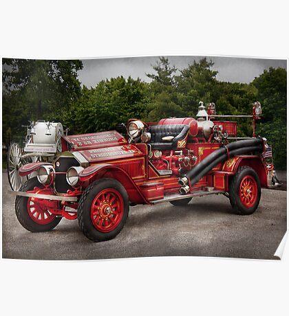 Fireman - Phoenix No2 Stroudsburg, PA 1923  Poster