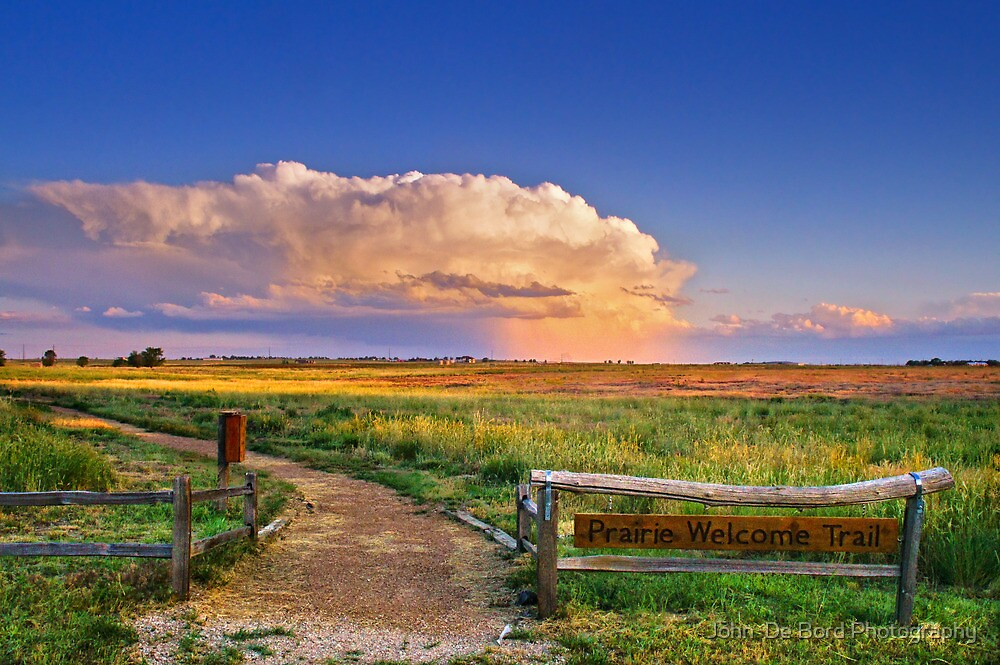 Summer Evening Thunderstorms by John  De Bord Photography