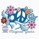 Marijuana Cannabis Magical Years 60's by MarijuanaTshirt