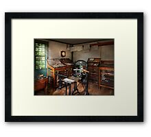 Graphic Artist - The print office - 1750  Framed Print