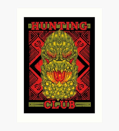 Hunting Club: DevilJho Art Print