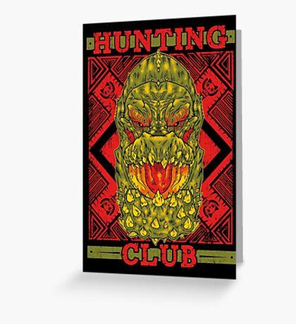 Hunting Club: DevilJho Greeting Card