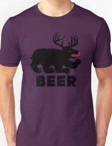 BEER = Bear + Deer Unisex T-Shirt