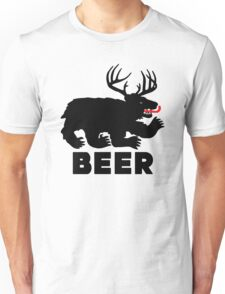 BEER = Bear + Deer Unisex T-Shirt