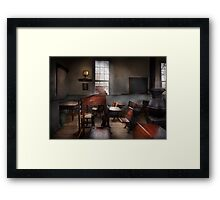 Teacher - The education system Framed Print