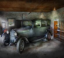 Automotive - Car - Granpa's Garage  by Mike  Savad
