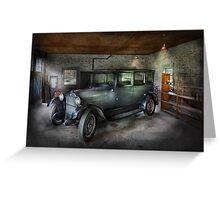 Automotive - Car - Granpa's Garage  Greeting Card