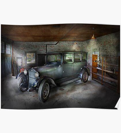 Automotive - Car - Granpa's Garage  Poster