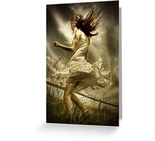 Wild in the country Greeting Card