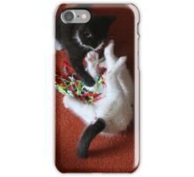 Playfighting Kittens iPhone Case/Skin