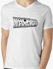 Back to the Eighties! Mens V-Neck T-Shirt