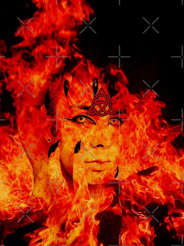 Fire Warlock by Gal Lo Leggio