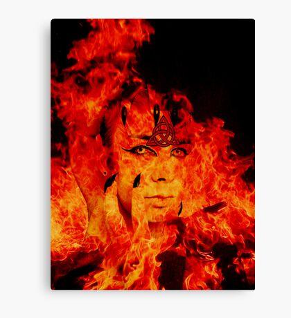 Fire Warlock Canvas Print