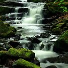 Lumsdale Waterfall by Mike Topley