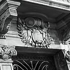 Ornate Doorway & Balcony by TonyGeary