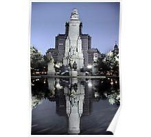 Monumento a Cervantes Poster