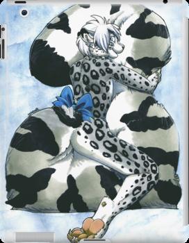 Snow Leopard Boy by farorenightclaw