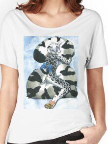 Snow Leopard Boy Women's Relaxed Fit T-Shirt