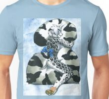 Snow Leopard Boy Unisex T-Shirt