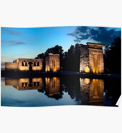 Templo de Debod Poster