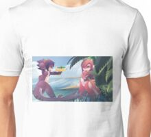 RU and Mako beach fun Unisex T-Shirt