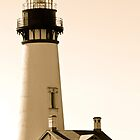 Modern Antiques ~ Yaquina Head Lighthouse by Laddie Halupa
